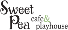 Sweet Pea Cafe and Playhouse Logo